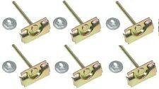 Chevy B Body Applications & El Camino Front Window Molding Clips 1959-60 (6 pc)