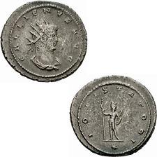 Gallienus Antoninian Antiochia IOVI STATORI Jupiter Zepter Stern RIC 645 var.