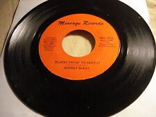 """MURRAY McKAY """"Blacks Tryin' to Make it / Don't Let The Pusher.."""" BREAKS Funk NM-"""
