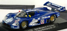 "SLOT IT SICA06E MERCEDES SAUBER C9 #63 ""MICHELIN MAN""  1/32 SLOT CAR"