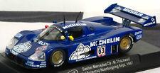 """Slot It Sica06E Mercedes Sauber C9 #63 """"Michelin Man"""" 1/32 Slot Car"""