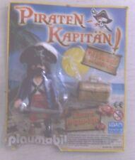 Playmobil Piraten-Kapitän mit Pistole und Schatztruhe Pirat Piraten