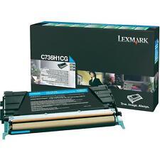 Original LEXMARK Toner C736H1CG cyan  neu B