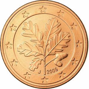 [#699836] République fédérale allemande, 5 Euro Cent, 2009, FDC, Copper Plated S
