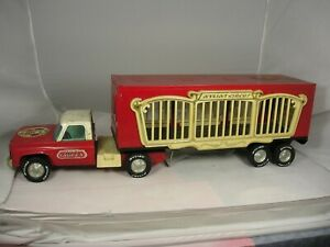 Vintage Nylint Circus Truck with Animals