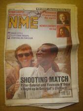 NME 1989 JUN 3 PETER GABRIEL CYNDI LAUPER NENEH CHERRY