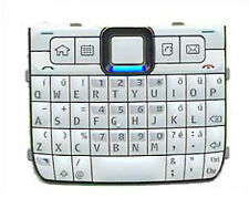 For Nokia E71 Number Keyboard Keypad Buttons Replacement Part White UK