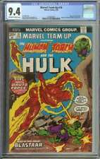 MARVEL TEAM-UP #18 CGC 9.4 OW/WH PAGES