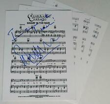 "Malcolm McDowell A Clockwork Orange Signed ""Singin' In The Rain"" Sheet Musi 00004000 c"