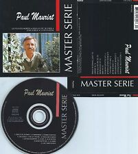 PAUL MAURIAT-MASTER SERIE (BEST OF)-73/74/75/82/88-1992-CANADA-CD-MINT-