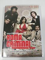 ROMA CRIMINAL TEMPORADA 1 COMPLETA - LA SERIE TV 4 DVD CASTELLANO ITALIANO