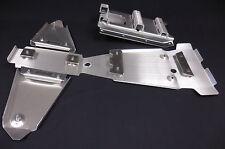SUZUKI LTZ400 FRAME SKID PLATE & A-ARM PLATE SET.125&.190 SWINGARM Z400 (03-08)