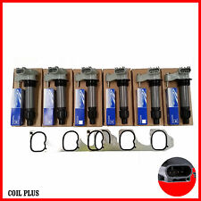 6x Ignition Coil Holden Commodore VE Statesman WL WM inc Spark Plug Inlet Gasket