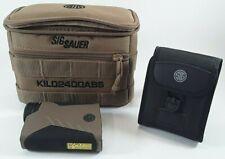 Sig Sauer KILO2400ABS Ballistic Rangefinder 7x 25mm with Applied Ballistics Syst