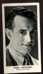 Tobacco Card, Walkers, FILM STARS, 1935, Gene Gerrard