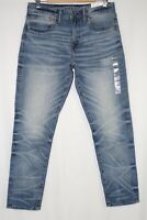 American Eagle Men's Athletic Next Level Airflex Stretch 31 x 30 Worn Out Blue