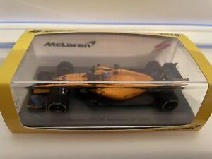 Spark - Fernando Alonso - McLaren - MCL33 - Australian GP - 2018 - 1:43 - Rare
