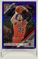2019-2020 Panini Donruss Optic Otto Porter Jr Purple Parallel Card #74 Bulls