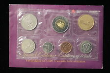 2003 Canada. Special Edition. 7 Coin Uncirculated RCM Set, Card & Envelope. (#1)