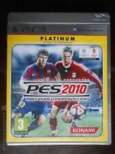 PS3 PRO EVOLUTION SOCCER 2010 PES - PLATINUM - PLAYSTATION 3 - PAL ESPAÑA (4A)