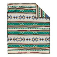 Authentic Pendleton Turquoise Ridge Robe Blanket - Multi Twin