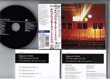 DEPECHE MODE The Singles 81-85 JAPAN CD w/RARE Cool Price OBI+INSERT TOCP-53236