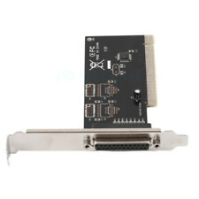 DB25 One Parallel Port LPT Printer to PCI Card Converter Adapter For Win7