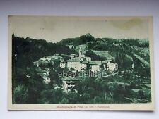 MONTAGNAGA DI PINE' panorama Baselega Trento vecchia cartolina