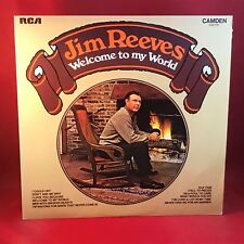 JIM REEVES Welcome To My World 1973  UK vinyl  LP,EXCELLENT CONDITION
