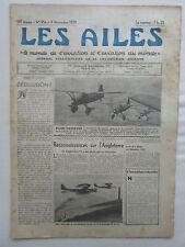 AILES 1939 954 GUERRE AERIENNE WWII HEINKEL 112 LYSANDER RAF WINCZA RAVITAILLEME