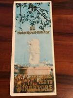Vintage Hotel Royal - Ramada Welcomes you to Singapore Brochure - 1970s w/ Map