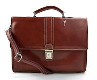 Cartella pelle borsa ufficio uomo donna valigetta 24 ore borsa pelle rosso