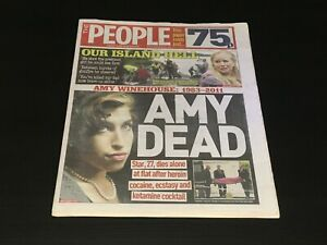 The People: Amy Winehouse 24 July 2011 Newspaper