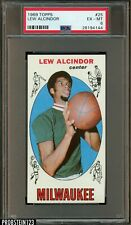 1969 Topps Basketball #25 Lew Alcindor Kareem Abdul-Jabbar RC Rookie HOF PSA 6