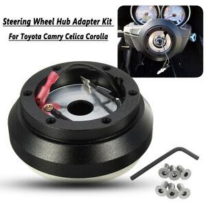 Steering Wheel Hub Adapter Boss Kit For Toyota Camry Celica Corolla MR2 Tercel