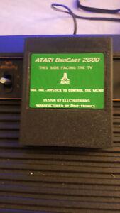 Atari Uno Cart 2600 flash cart sd games roms UnoCart