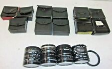 LARGE LOT OF CAMERA CLOSE-UP LENSE AND FILTERS, 52, 55, AND 58 MM, FREE SHIPPING