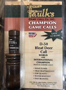 Faulks Champion Game Calls D-50 Doe Bleat Deer Call