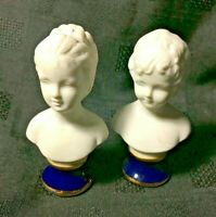 Bisque Busts - Louise and Alexander Brongniart