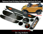 The Toy Restore Replacement Stickers fits Rollplay Mini Cooper 6V Full Set Kit
