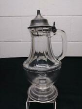 Antique Hobbs NO 91  Molasses Syrup Pitcher Can - 1 Pint