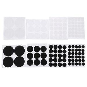 15/20/30/50mm Black And White Waterproof Self Adhesive Hook and Loop Dots Ta_cd