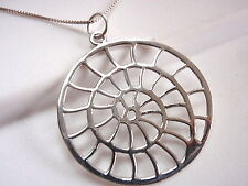 The Spiral Nature's Invention Pendant 925 Sterling Silver Corona Sun Round
