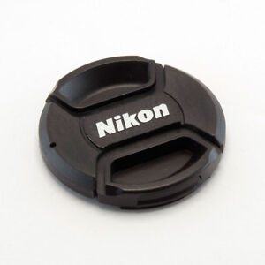 NIKON LC-67 STYLE 67MM CENTRE PINCH CLIP ON LENS CAP FOR NIKON