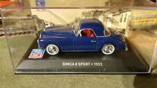 voiture miniature Simca 8 sport-1952 1/43