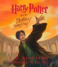 Harry Potter: Harry Potter and the Deathly Hallows 7 by J. K. Rowling (2007, CD,