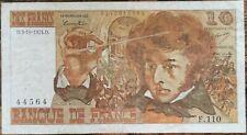 Billet 10 francs Hector BERLIOZ 3 - 10 - 1974 FRANCE F.110