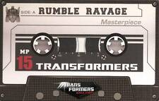 LIMITED COIN for TAKARA TOMY TRANSFORMERS MASTERPIECE MP-15 RUMBLE & RAVAGE NEW