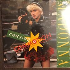 "MADONNA ""Causing A Commotion"" REMIX  Near Mint! In Shrink on SIRE 12"" EP Rare"