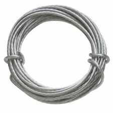 Hangz 80050 Coated Stainless Steel Gallery Wire For Hanging Pictures, 50Lb, 9-Fo
